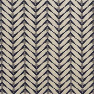 Groundworks Zebrano Beige Midnight Fabric
