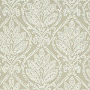 BW45048-1 RYECOTE DAMASK Stone Ivory GP & J Baker Wallpaper