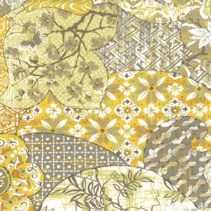 CYNT-1 CYNTHIA 1 Mica Stout Fabric