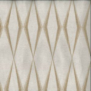ZIG ZAG Fawn Norbar Fabric