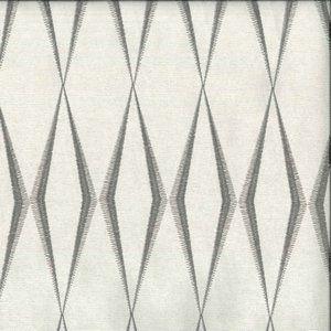 ZIG ZAG Grey Norbar Fabric