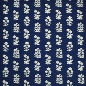 LCF68671F BLUE GROTTO EMBROIDERY Royal Blue Ralph Lauren Fabric