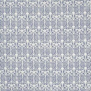 LCF68677F IGNAZIO DAMASK Royal Blue Ralph Lauren Fabric