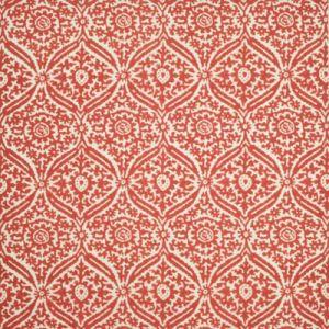 LCF68687F COSTIERO DAMASK Sunbaked Red Ralph Lauren Fabric