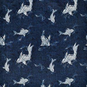LCF68766F PEBBLE COVE Indigo Ralph Lauren Fabric