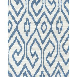 7240-08 AQUA IV French Blue on White Quadrille Fabric