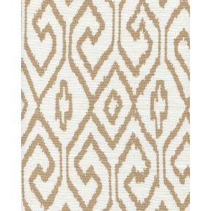 7240-01 AQUA IV Camel on White Quadrille Fabric