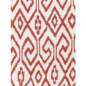 7240-05 AQUA IV Rust on White Quadrille Fabric