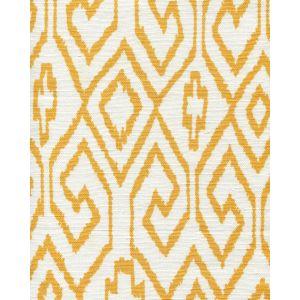 7240-02 AQUA IV Yellow on White Quadrille Fabric