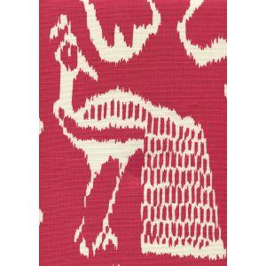 2430-52 BALI II Red on Tint Quadrille Fabric