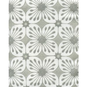 8250-02 BARBADOS BATIK Grey Dark Grey on White Quadrille Fabric