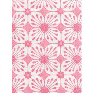 8250-10 BARBADOS BATIK Pink on White Quadrille Fabric