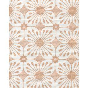 8250-01 BARBADOS BATIK Tan Beige on White Quadrille Fabric