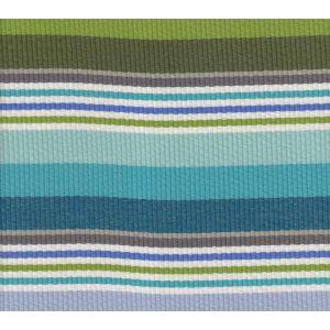 7280-03 CABANA STRIPE Multi Turquoise Greens Quadrille Fabric
