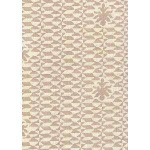302232F CARLO II Pumice on Curtain Weight Quadrille Fabric