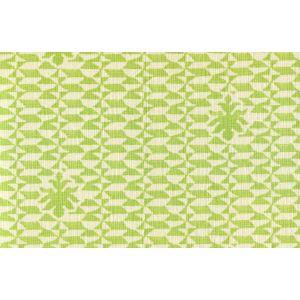 302238F CARLO II Green on Curtain Weight Quadrille Fabric