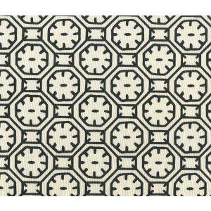 8150-11 CEYLON BATIK Black on Tint Quadrille Fabric