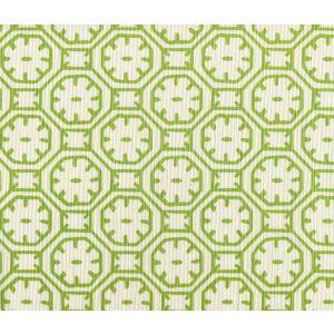 8150-05 CEYLON BATIK Jungle Green on Tint Quadrille Fabric