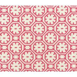 8155-06 CEYLON BATIK REVERSE Magenta on Tint Quadrille Fabric