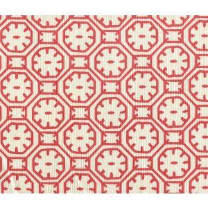 8150-09 CEYLON BATIK Red on Tint Quadrille Fabric