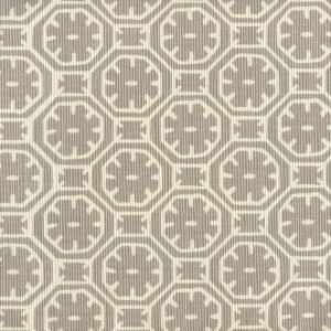 8155-02 CEYLON BATIK REVERSE Gray on Tint Quadrille Fabric