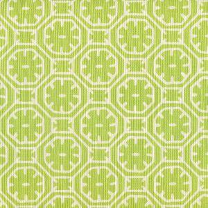 8155-05 CEYLON BATIK REVERSE Jungle Green on Tint Quadrille Fabric