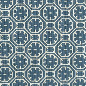 8155-10 CEYLON BATIK REVERSE Navy on Tint Quadrille Fabric