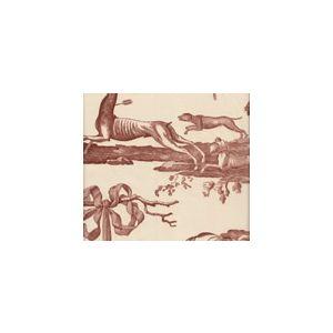 2427-05 CHASSE DE DIANE TOILE Bois Quadrille Fabric