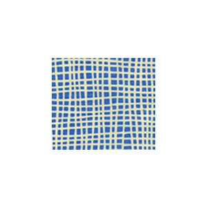 AC403-15SUN CRISS CROSS French Blue Quadrille Fabric