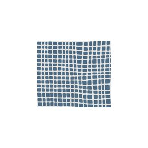 AC403-19 CRISS CROSS Navy on Tint Quadrille Fabric
