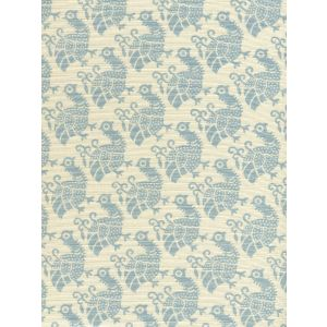 8070-00 DUNMORE New Blue on Tint Custom Only Quadrille Fabric
