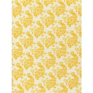 8070-02 DUNMORE Yellow on Tint Custom Only Quadrille Fabric
