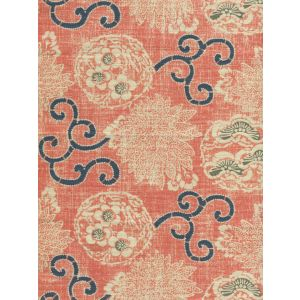 2439-01 FAIRIE ENCHANTEE TOILE Saummon Quadrille Fabric