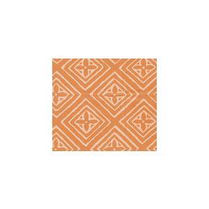 2490SU-07-TERRACOTTA FIORENTINA Terracotta on Vellum Quadrille Fabric