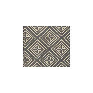 2490SU-07-STEEL-GRAY FIORENTINA Steel Gray on Vellum  Quadrille Fabric