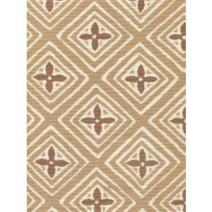 2500-04 FIORENTINA TWO COLOR Camel Dark Tan Quadrille Fabric