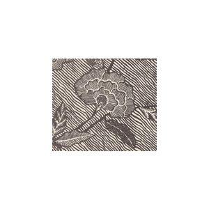 4060-08SUN FLORES II Brown  Quadrille Fabric