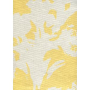 8320-08 FLOWERS II BACKGROUND Yellow On Tint Custom Only Quadrille Fabric