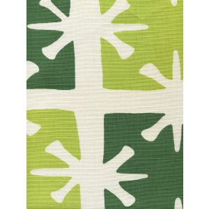 8095-06 GEORGIA LARGE SCALE Lime Forest Green on Tint Custom Only Quadrille Fabric