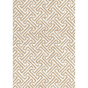 3080-08 JAVA JAVA Taupe on White Linen Quadrille Fabric