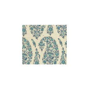HC1955S-09VS KASHMIR PAISLEY Blue Quadrille Fabric