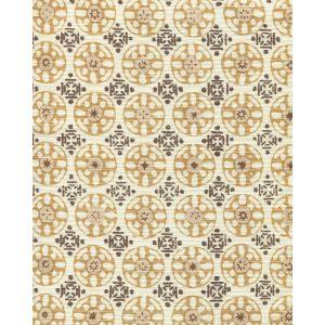 8170-07 KEDIRI BATIK Brown Tobacco Camel Taupe Quadrille Fabric