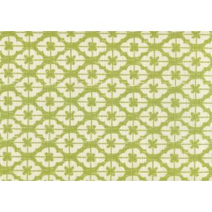 7130-05 KYOTO Jungle Green on Tinted Linen Custom Only Quadrille Fabric