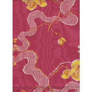 2413-04 LANCRET MOIRE Framboise Quadrille Fabric