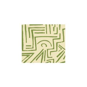 AC204-32 LASCAUX Avacado on Tint Quadrille Fabric