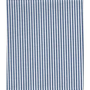 6920W-17 LILA STRIPE Navy on White Linen Quadrille Fabric