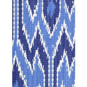 7300-03 LUCAYA IKAT MULTI Sky Blue Quadrille Fabric