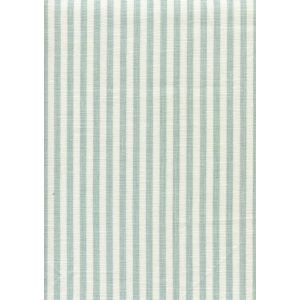 6930W-02 LULU STRIPE Aqua on White Linen Quadrille Fabric