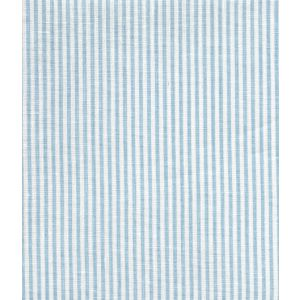 6930W-03 LULU STRIPE Blue on White Linen Quadrille Fabric
