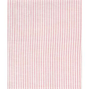 6930W-15 LULU STRIPE Soft Pink on White Linen Quadrille Fabric